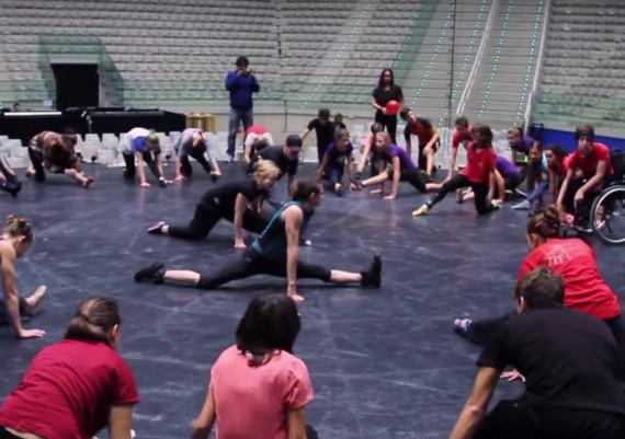 Laboratorio di circo con gli artisti del Cirque du Soleil