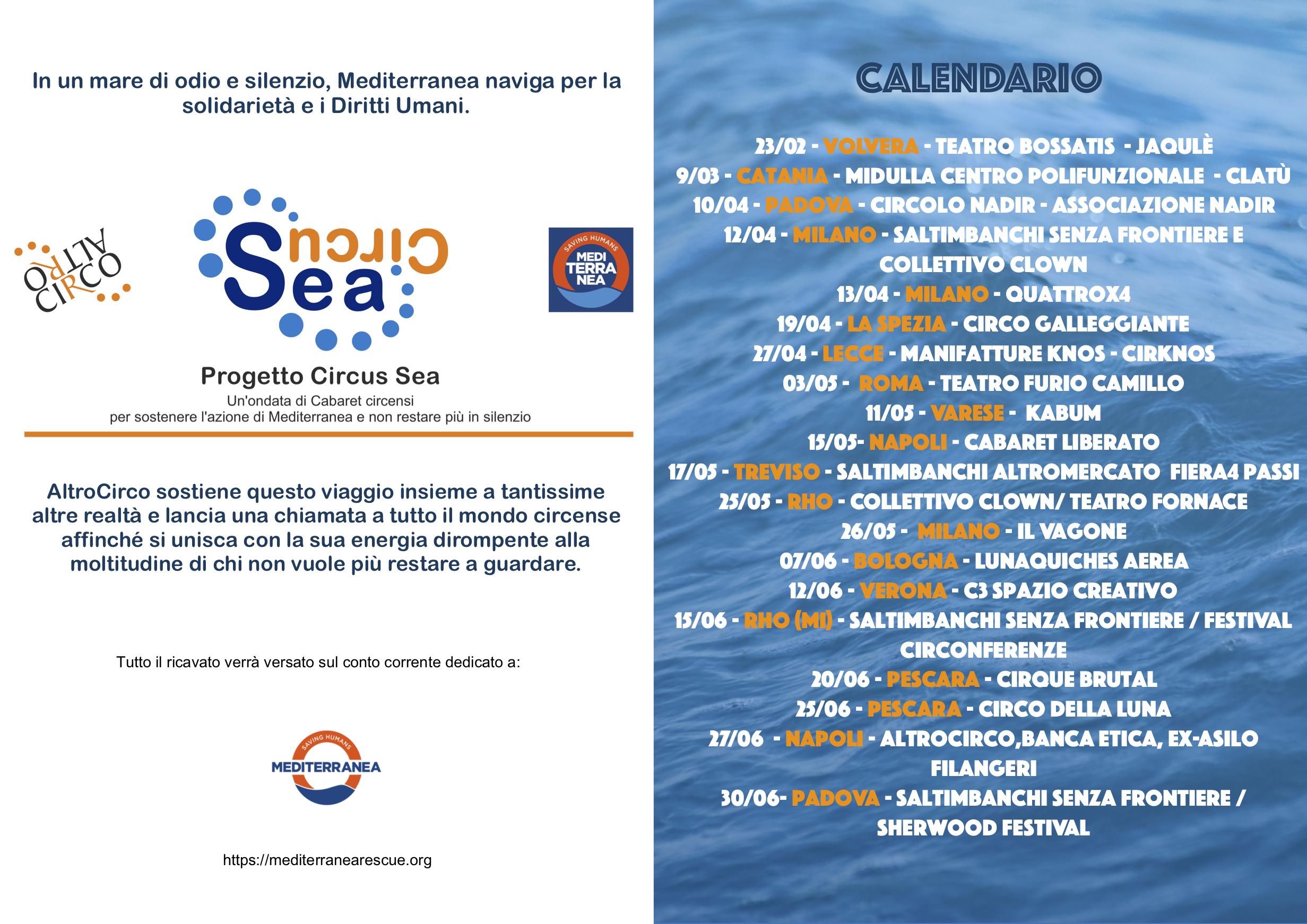 Calendario CircuSea
